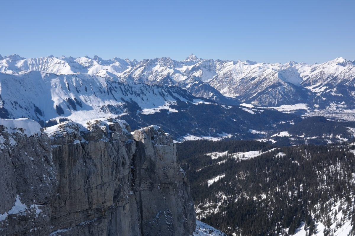 ice, snow, winter, cold, mountain peak, glacier, landscape, blue sky