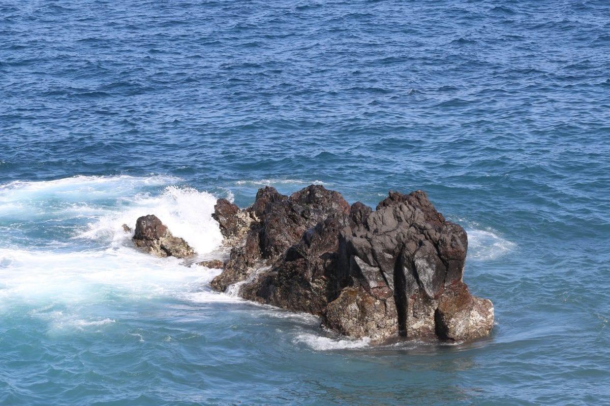 плаж, вода, природа, морския бряг, океан, вълна, море, остров, бряг, бреговата