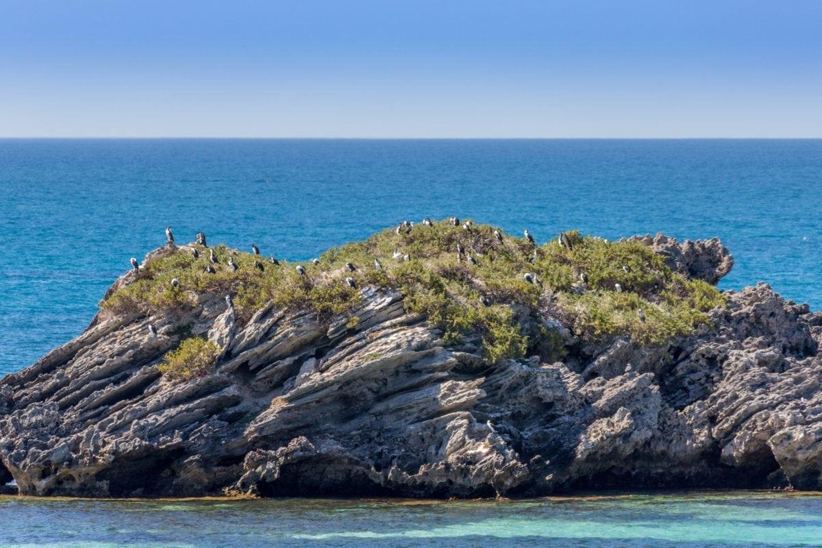 вода, море, остров, залив, океан, пейзаж, синьо небе, плаж, морски бряг, крайбрежие