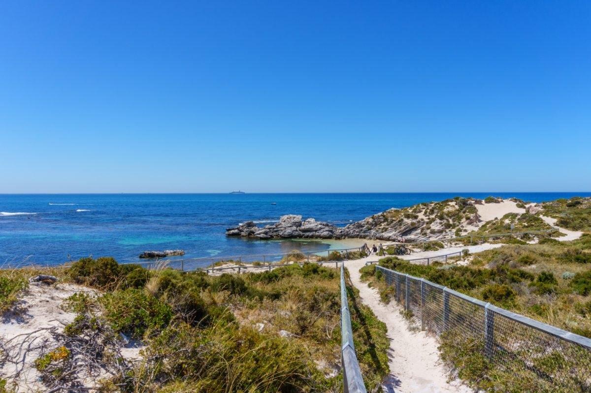 Ocean, hav, strand, blå himmel, vand, kysten, kystlinje, Cape