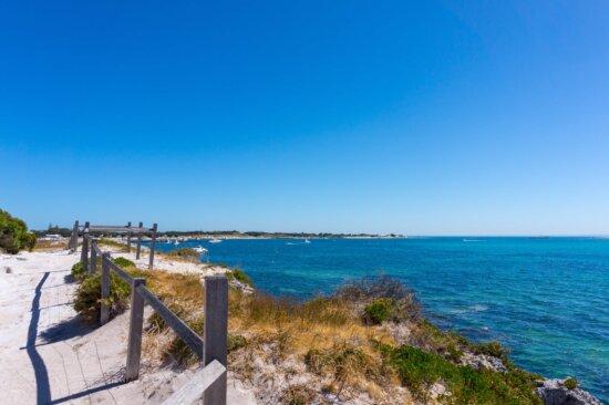 blue sky, sea, ocean, water, beach, seashore, shoreline, coast