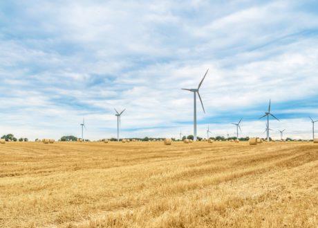 Electricité, agriculture, ciel bleu, invention, environnement, moulin à vent, énergie, vent, turbine
