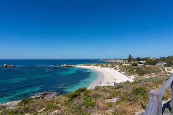 ocean, landscape, sea, water, seashore, sunshine, blue sky, beach, shoreline