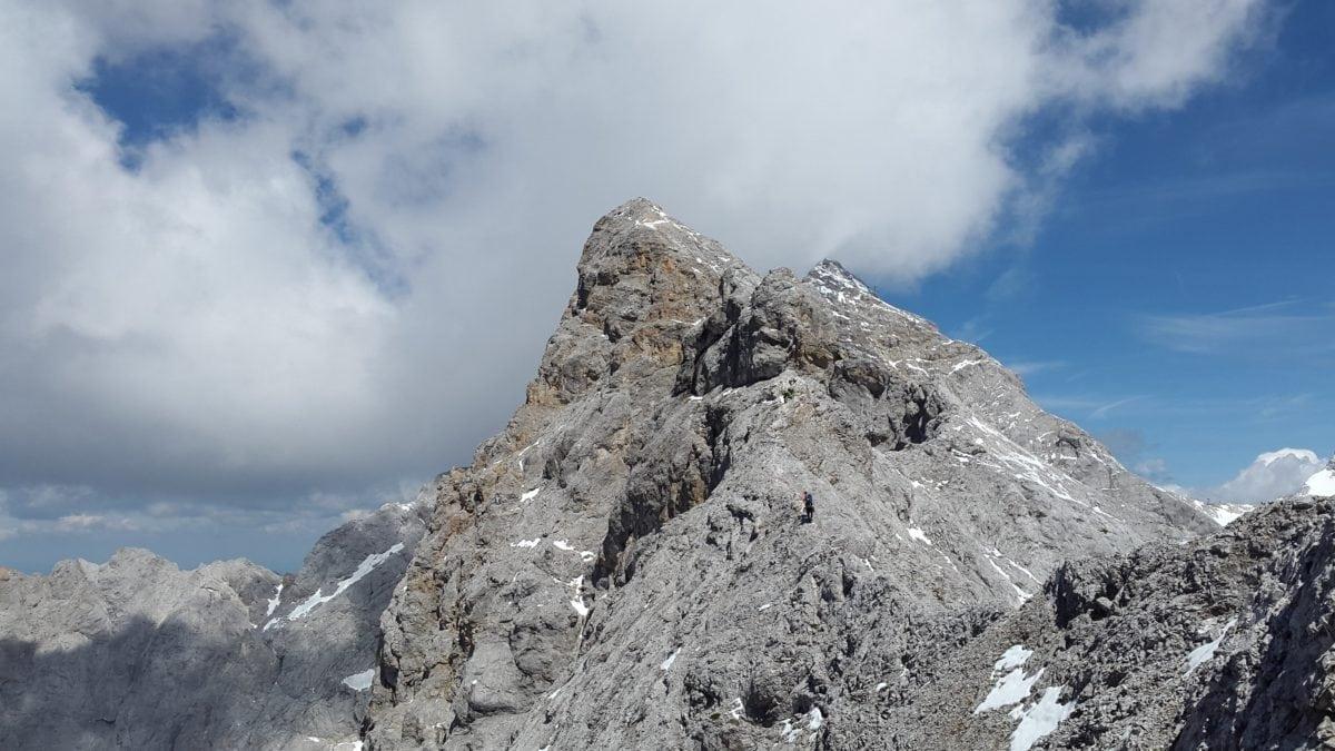 climb, mountain peak, snow, high, nature, landscape, outdoor, blue sky