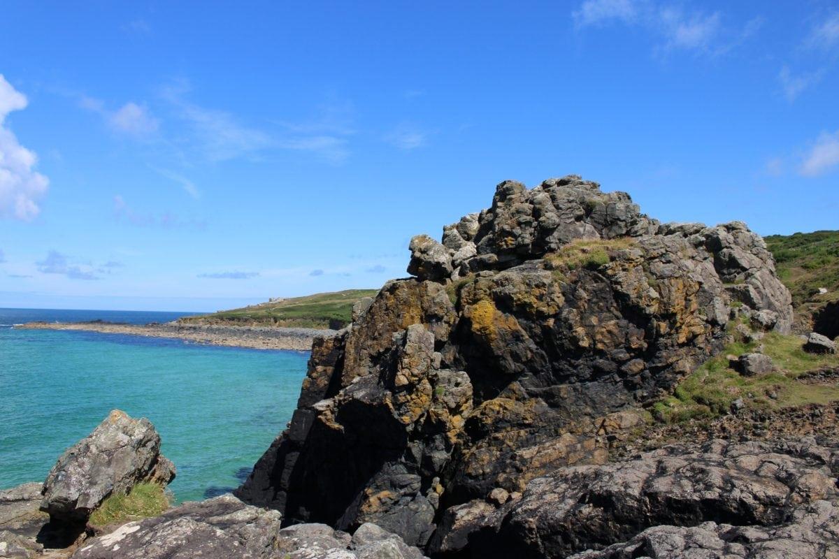 nature, landscape, sea, bay, ocean, seashore, beach, water, blue sky