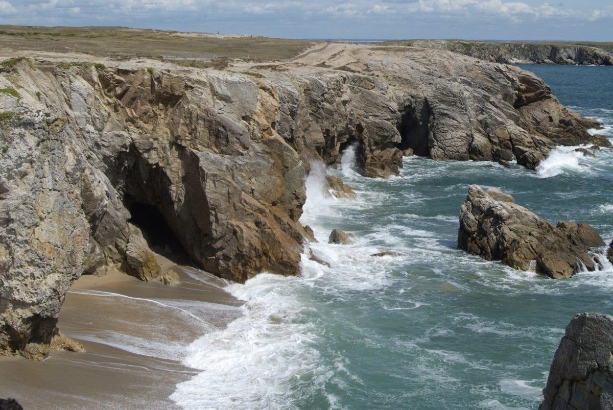 景观, 海滨, 波浪, 海洋, 水, 海, 海滩, 海岸, 海岸线