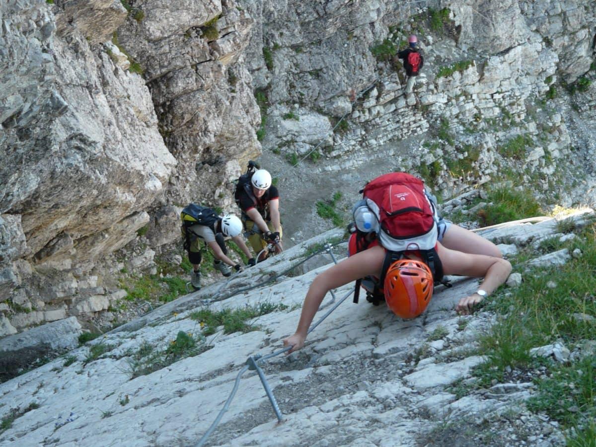 mennesker, Adventure, klatrer, udfordring, klatre, risiko, bjerg