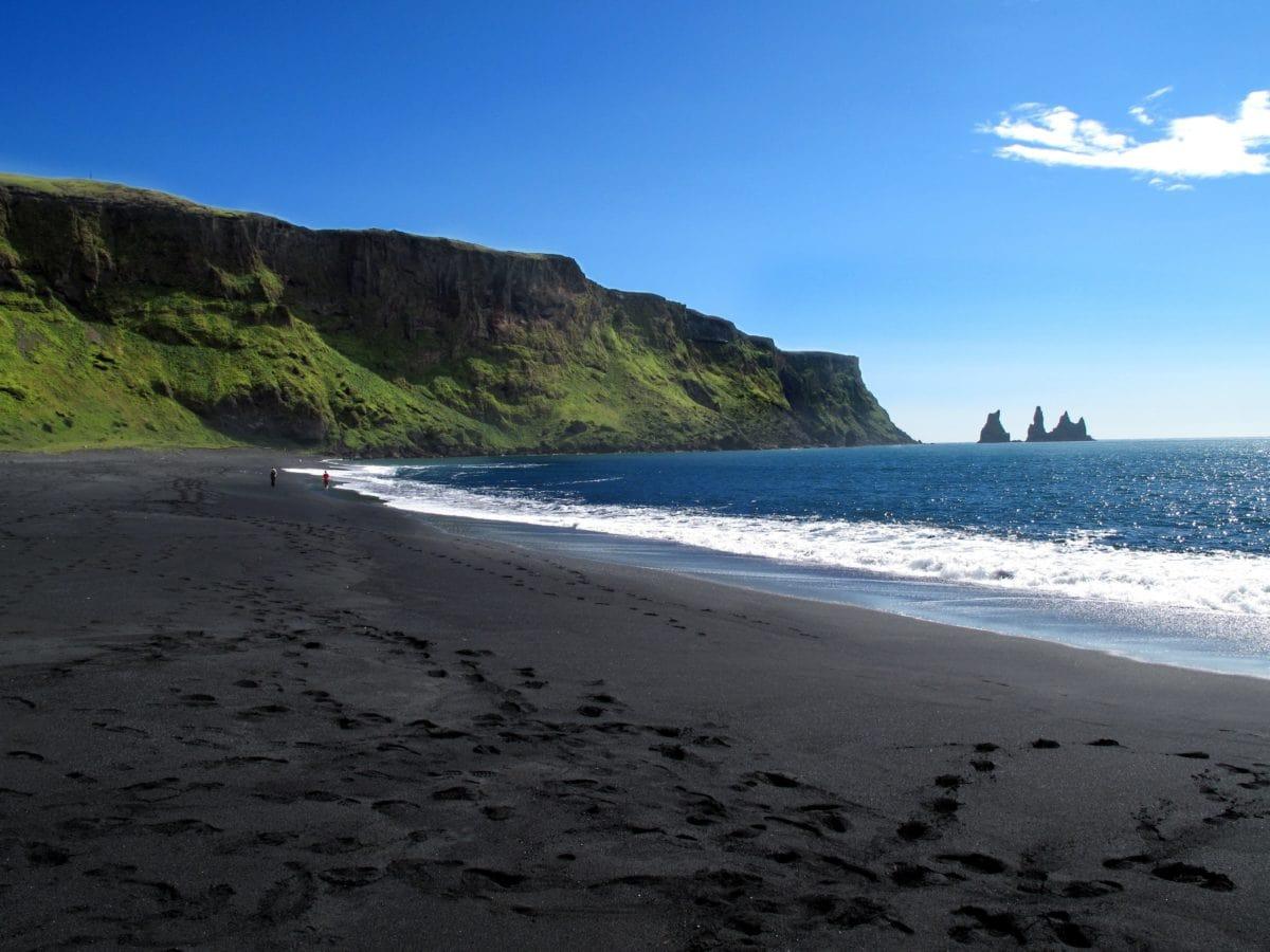beach, seashore, water, landscape, sea, ocean, shoreline