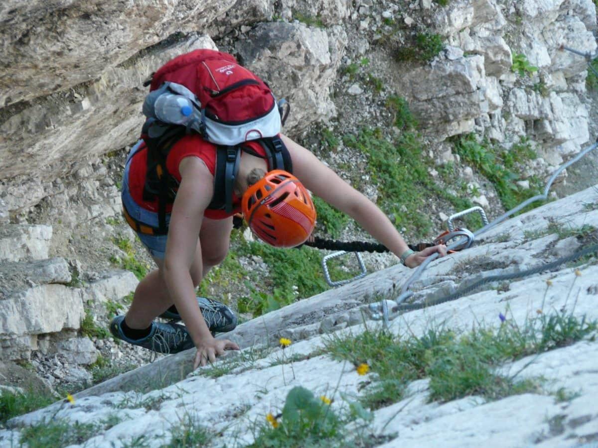 klatre, bjerg, sport, natur, eventyr, sommer, udendørs, person