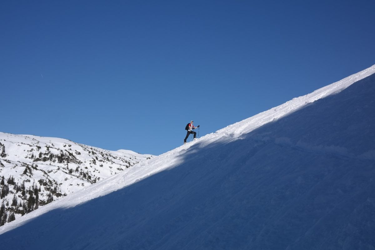 vintersport, eventyr, skiløber, is, snowboard, sne, vinter, bjerg, koldt