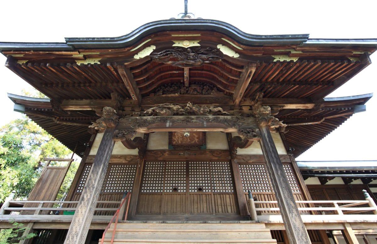 architecture, temple, palace, Asia, facade, exterior, religion, outdoor