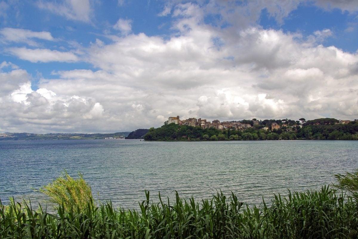 summer, nature, sky, water, lakeside, shore, basin, landscape