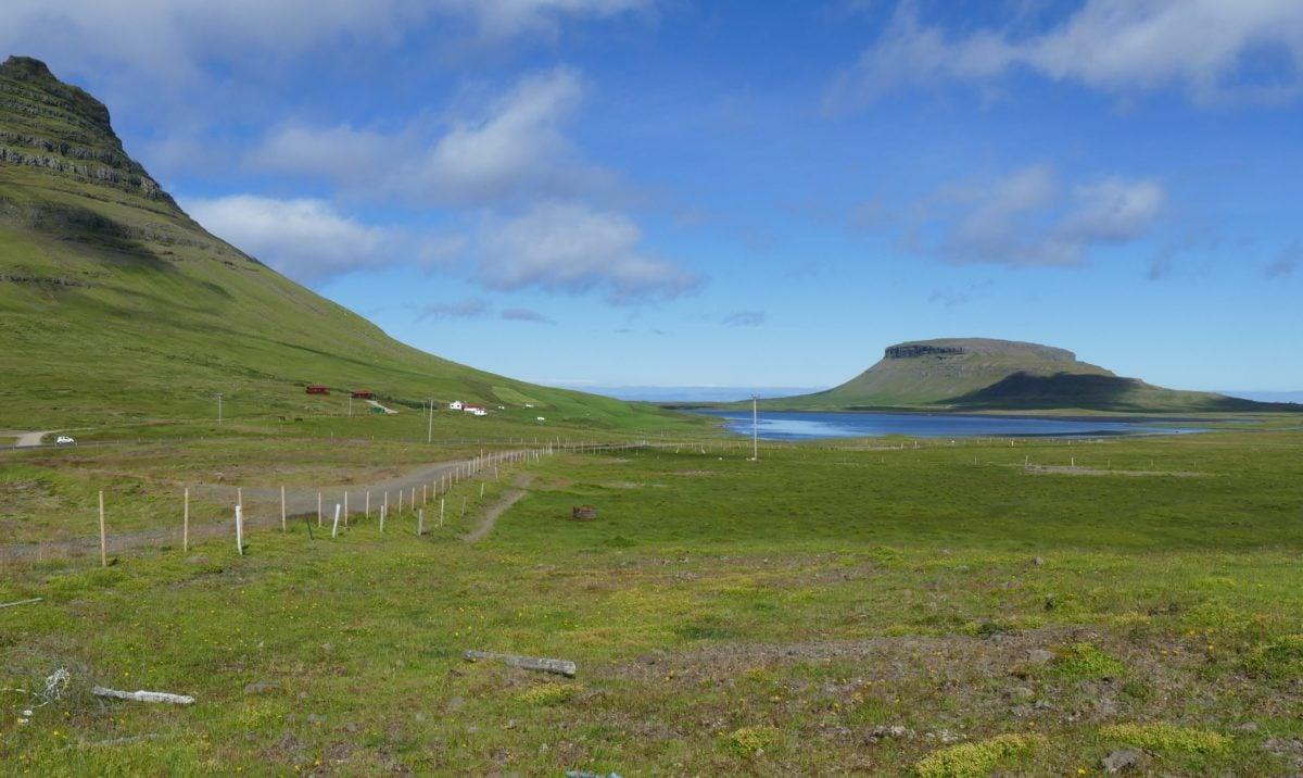 blue sky, hill, landscape, mountain, land, steppe, grass, outdoor