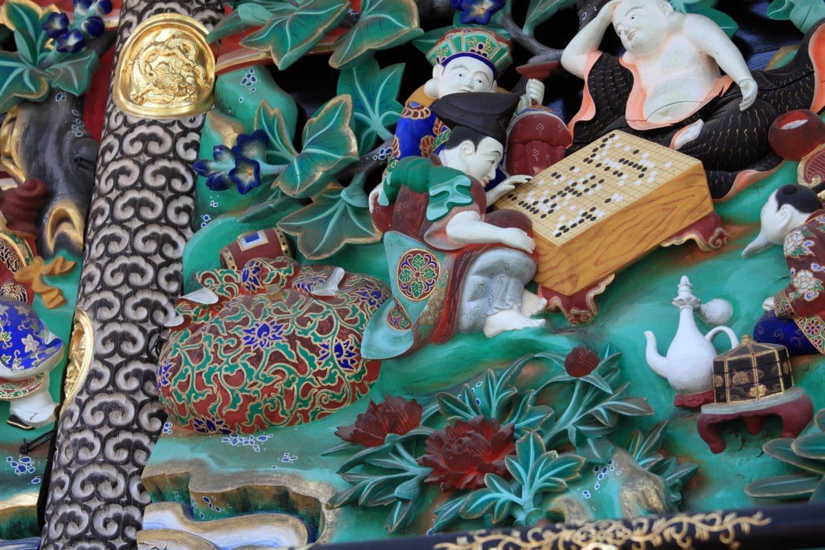 China, handmade, decoration, colorful, old, art, decoration, exterir
