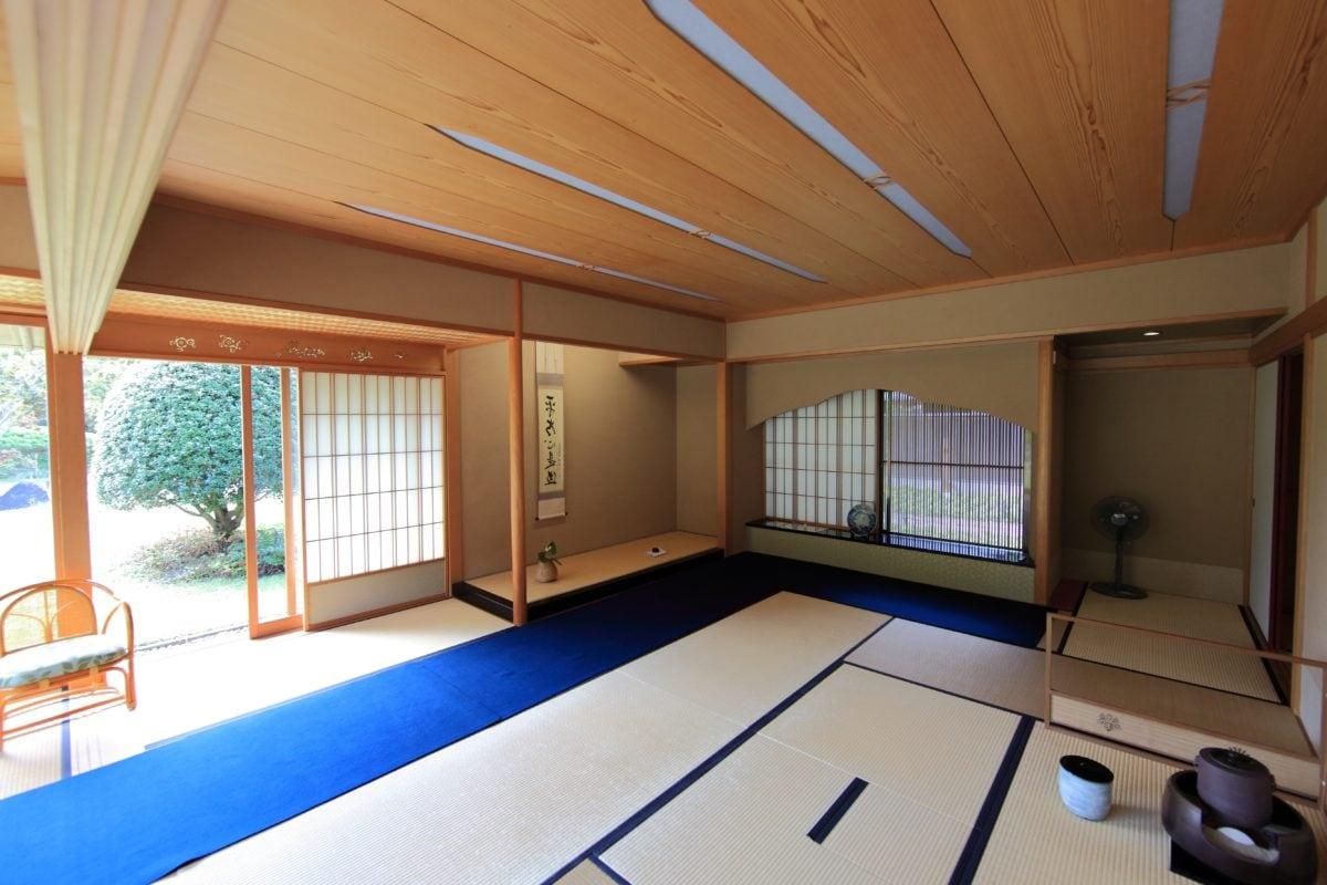 huone kalut, huone, matto, Aasia, nykyaikainen, ikkuna, koti, sisustus