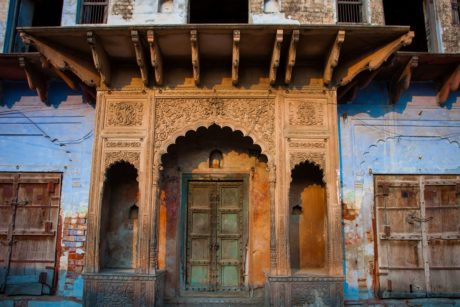 house, window, door, old, architecture, facade, arch, city