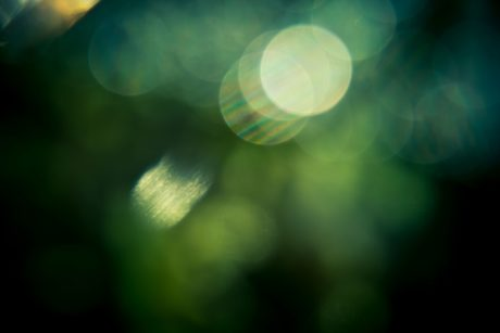 abstract, darkness, light, green, reflection, shadow, illumination