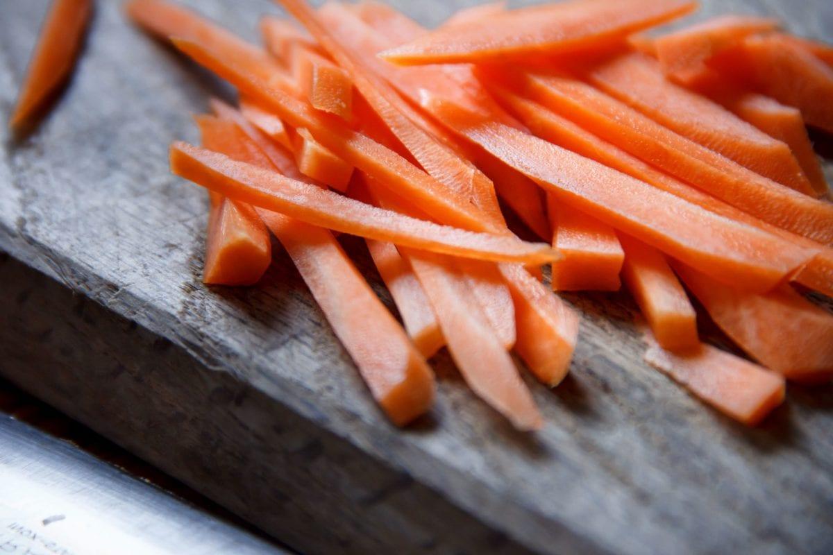 tre, rot, vegetabilske, mat, gulrot, lunsj, måltid, Slice
