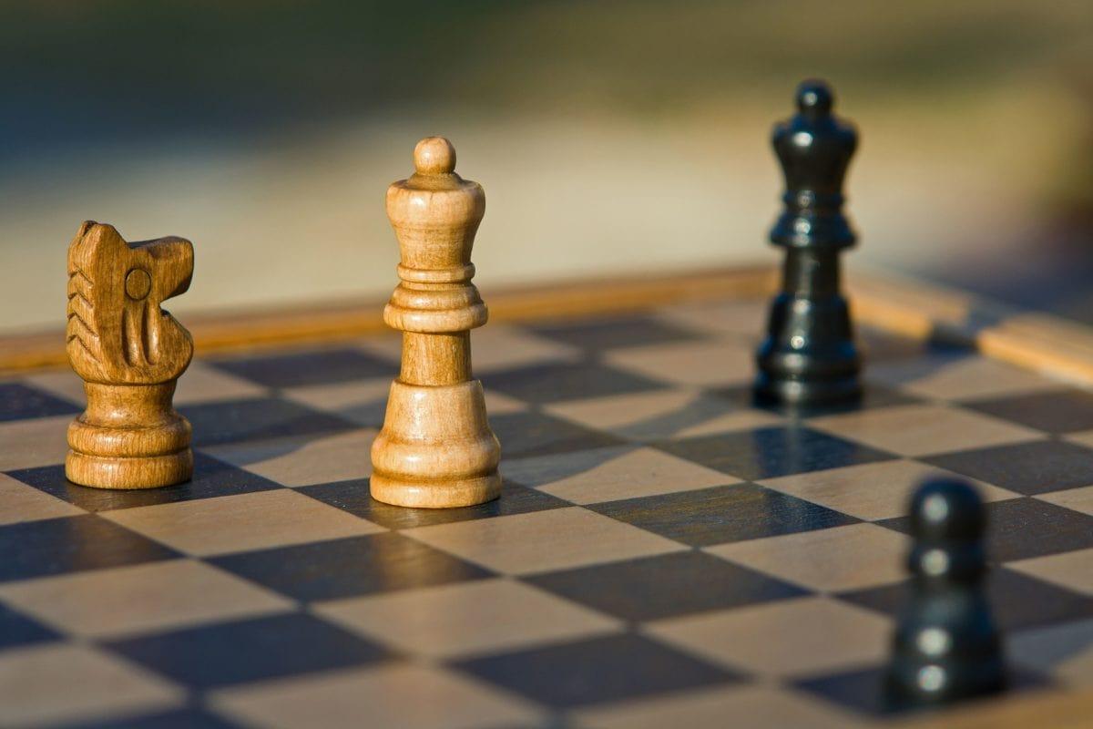 Szachownica, Queen, gameplan, inteligencja, strategiczne, zwycięstwo, rycerz, szachy