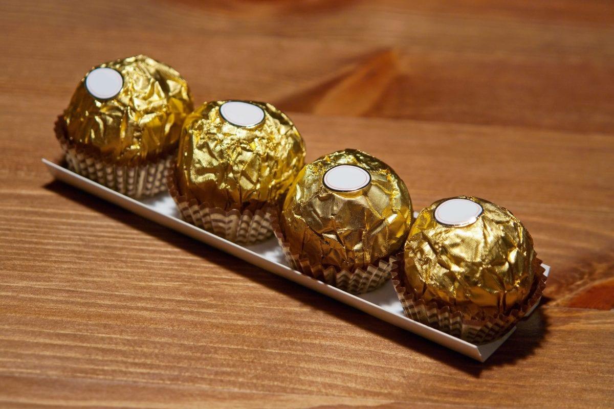 chocolat, nourriture, douce, feuille d'aluminium, crème, dessert
