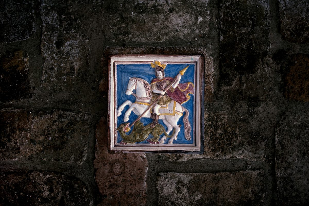 old, wall, memorial, fine art, painting