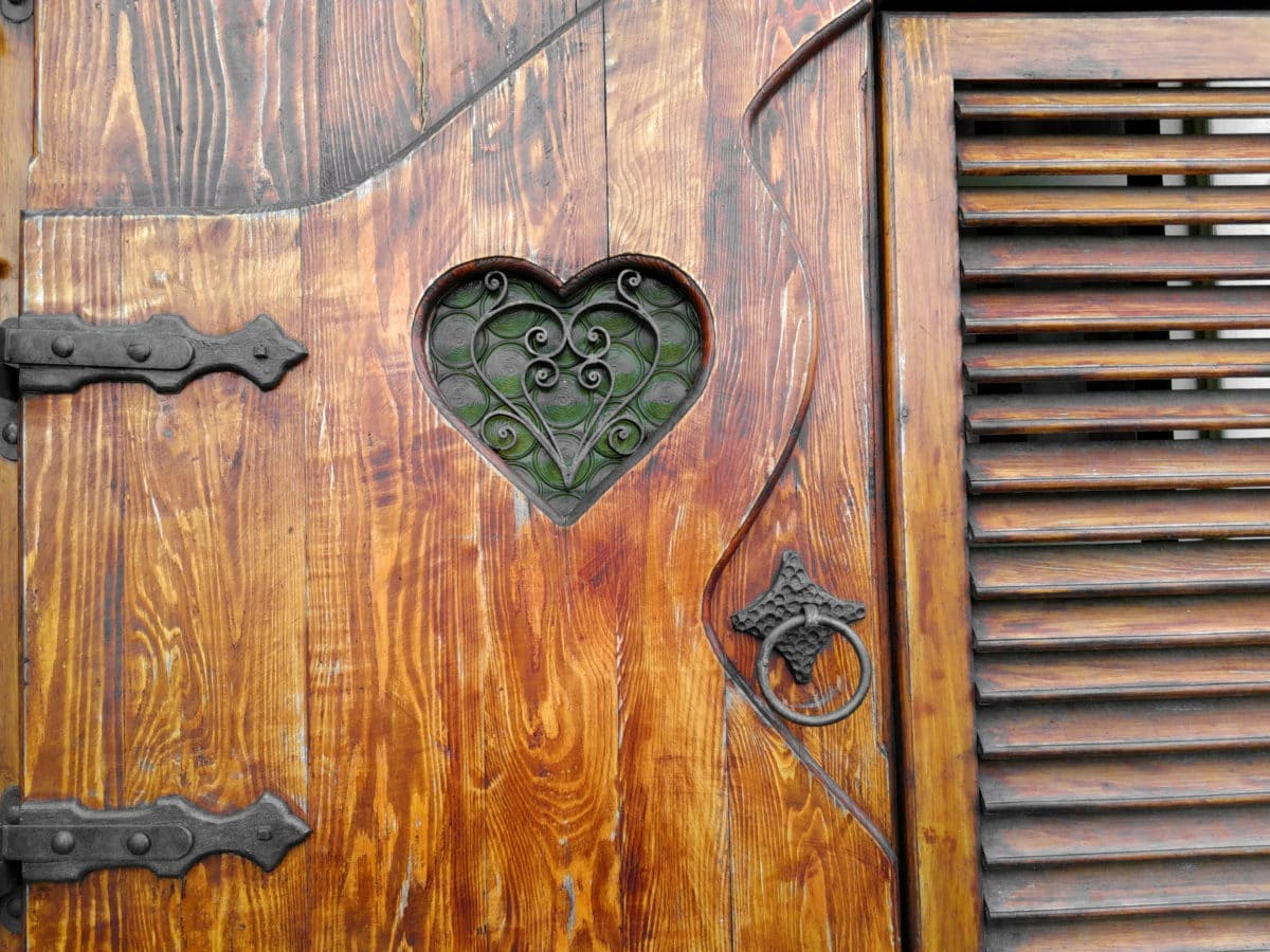 window, heart, object, wood, wall, texture, retro, old, wooden, design