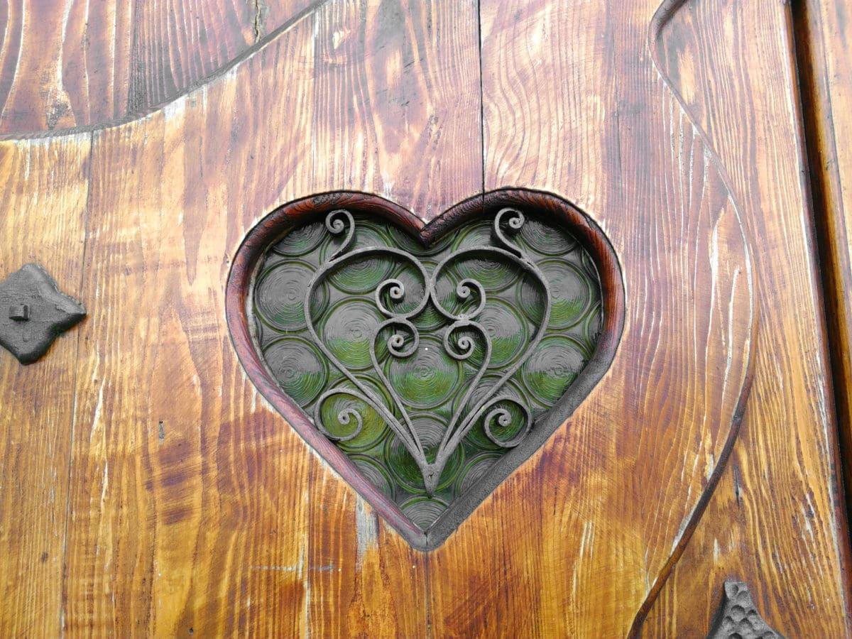 srdce, láska, Romantika, drevo, liatina, objekt, kreativita