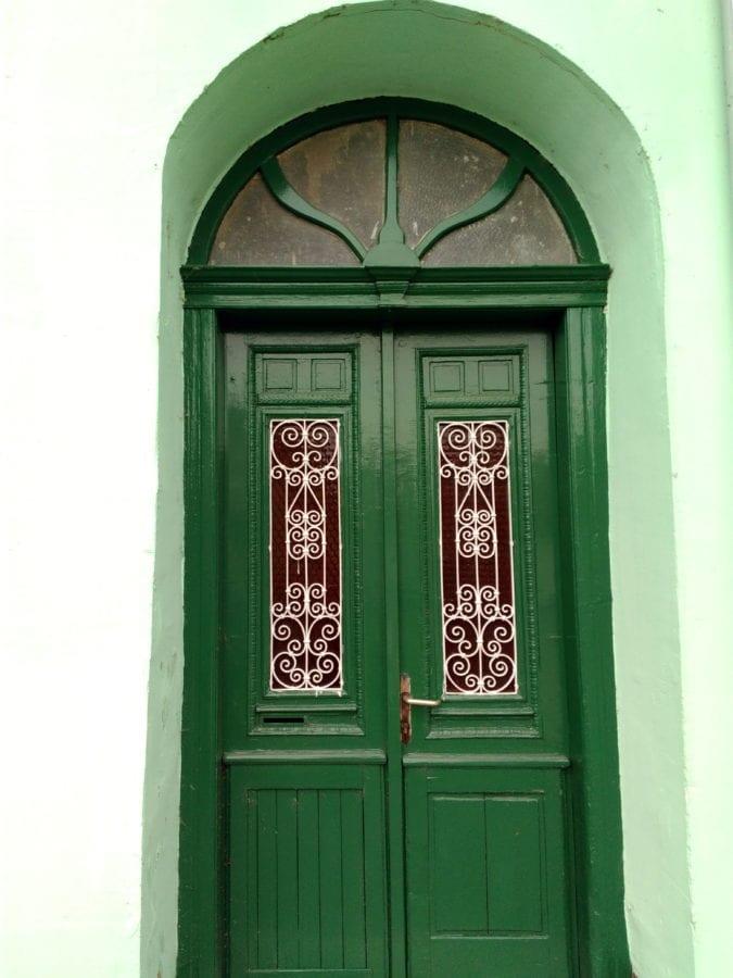 ทางเข้า, ประตูทางออก, ไม้, ประตูด้านหน้า, บ้าน, สถาปัตยกรรม, สีเขียว