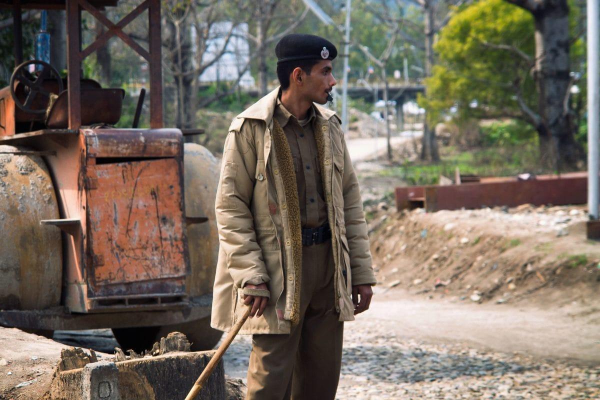 хора, Индия, човек, работник, работното място, машина, дърво, земя, лице