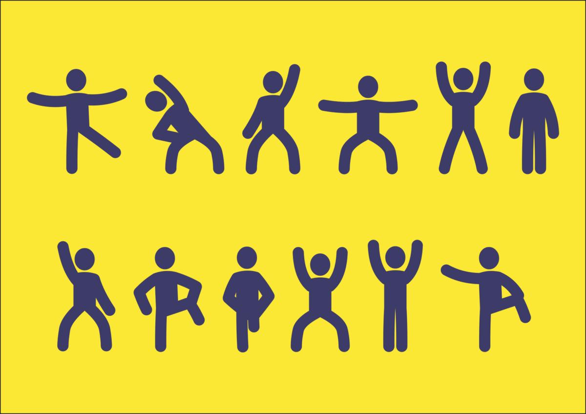 符号, 插图, 练习, 黄色, 符号, 图形