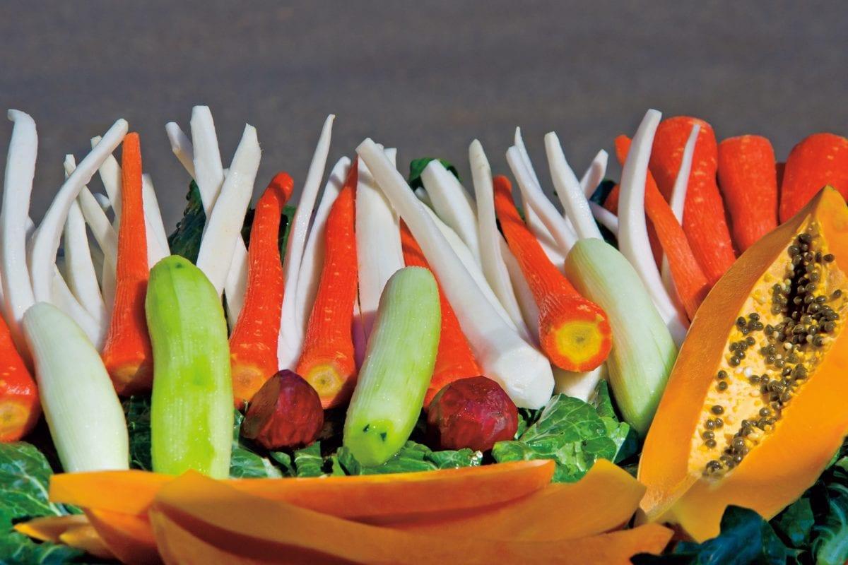 nourriture, concombre, carotte, salade, potiron, légumes, organique