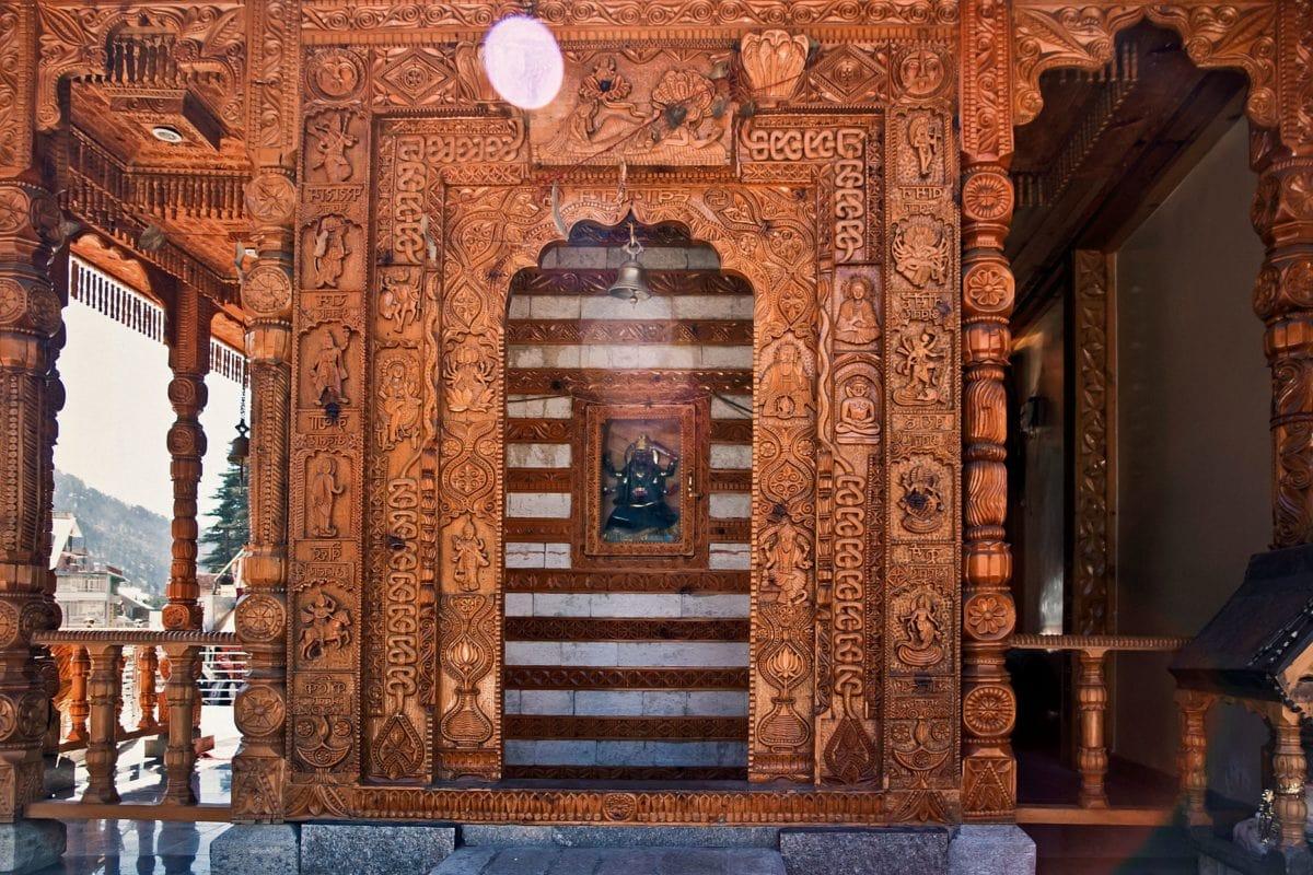 religión, madera, arte, fachada, marrón, Asia