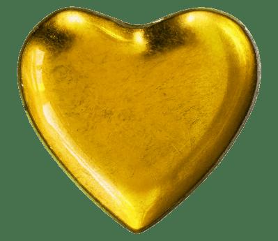 žuta, oblik, srce, ljubav, romansa