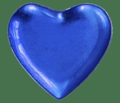синий, форма, сердце, любовь, романтика