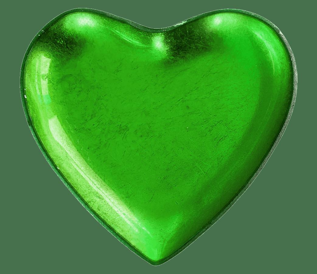 Grün, Form, Herz, Liebe, Romantik
