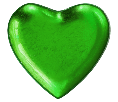 green, shape, heart, love, romance