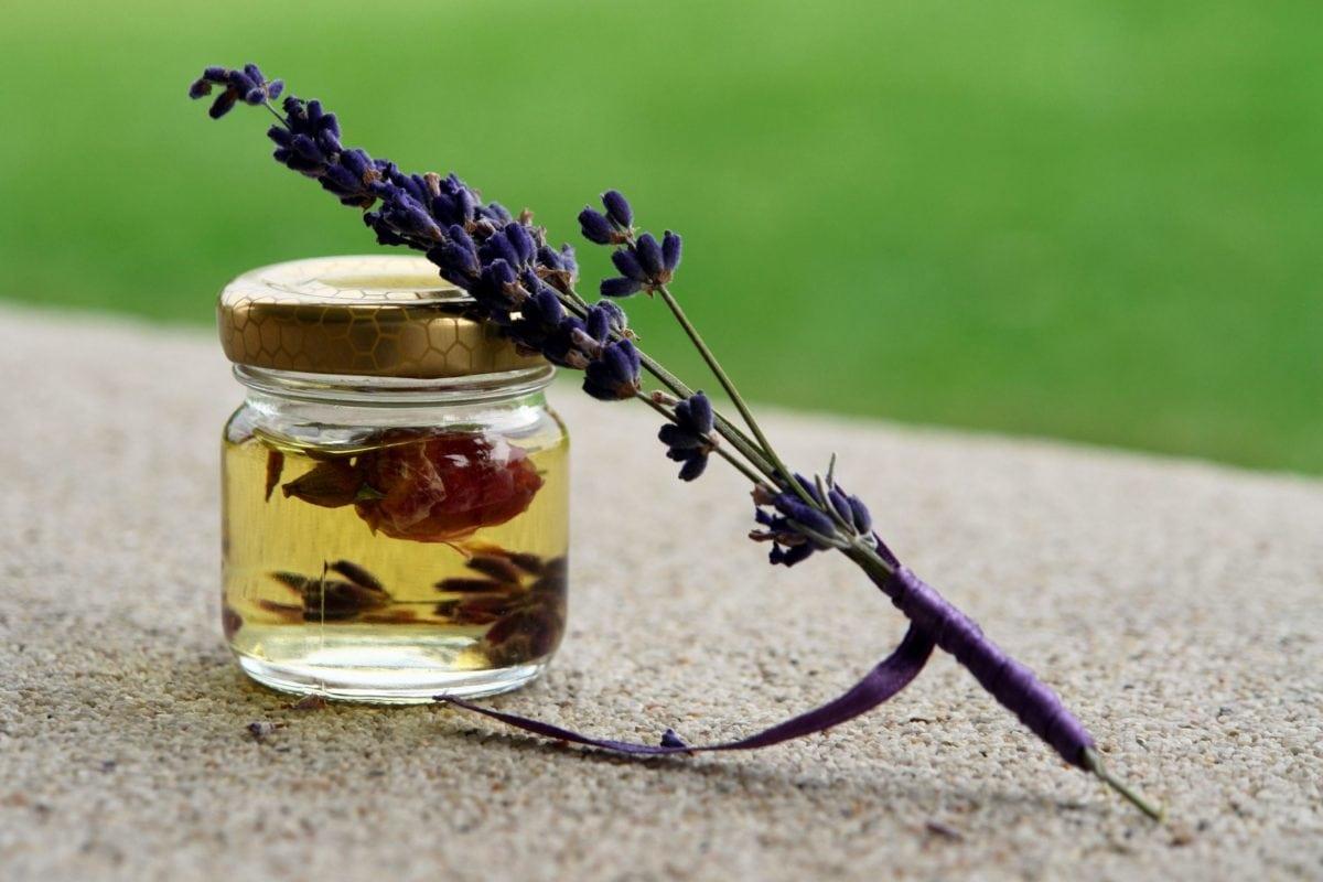 homemade, outdoor, jar, tea, flower, object, lavender, glass