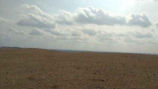 desierto, cielo azul, paisaje, estepa, tierra, arena, sol, al aire libre, suelo