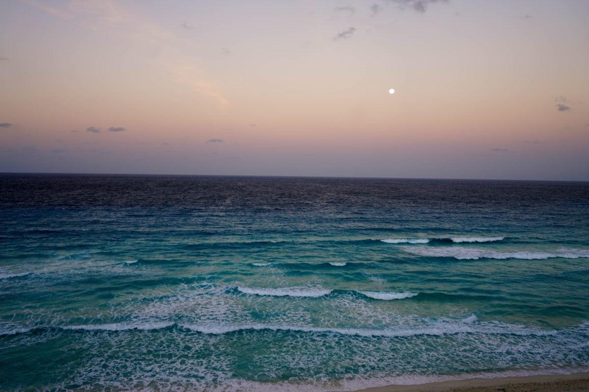 beach, sunset, ocean, sun, water, sea, coast, sand, seaside