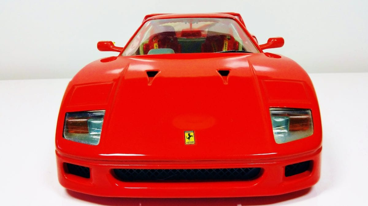 toy, plastic, object, vehicle, red car, convertible, auto, automobile, transportation