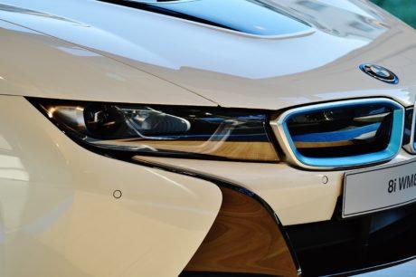 vožnja, bijeli auto, vozilo, moderno, automobil, auto, transport