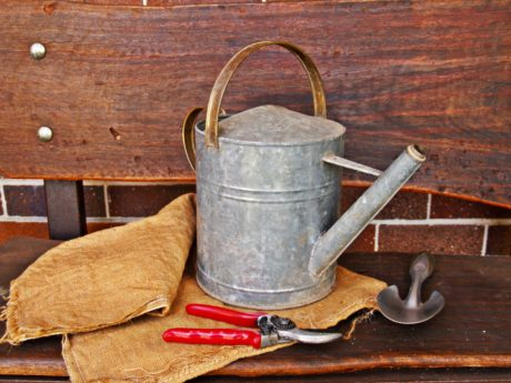 tool, wood, rustic, bucket, metal, object, old, still life
