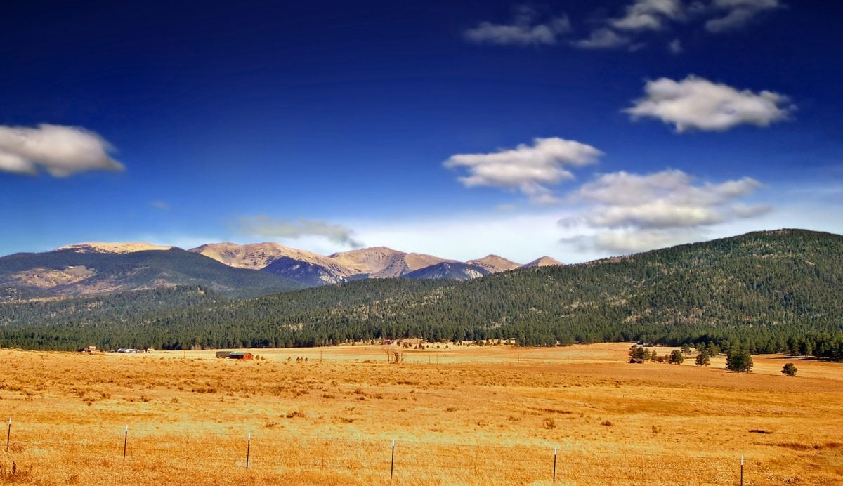 nature, blue sky, landscape, desert, land, field, steppe, outdoor