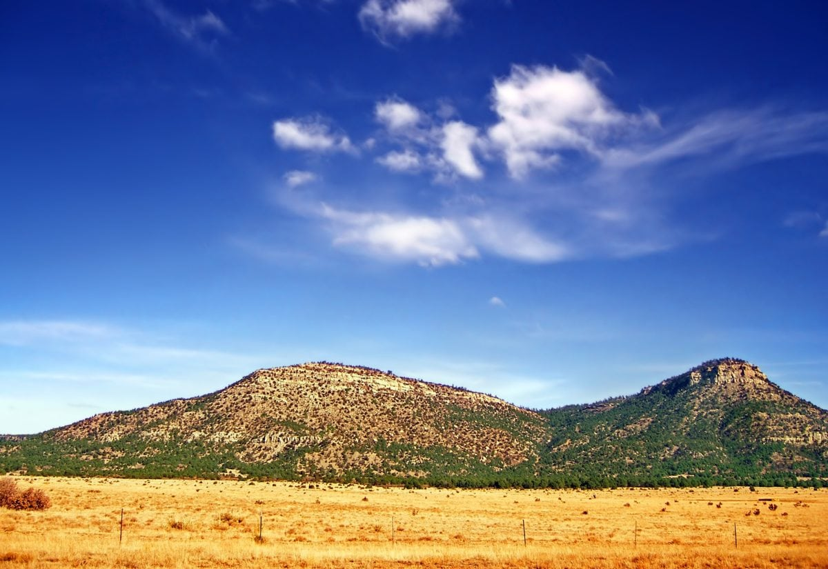Pustynia, Błękitne niebo, natura, wzgórze, krajobraz, Knoll, na wolnym powietrzu, Góra
