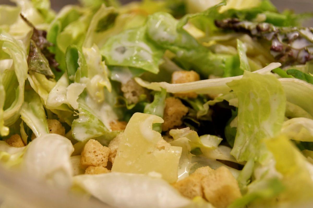 jídlo, salát, zelenina, večeře, chutné, jídlo, hlávkový salát