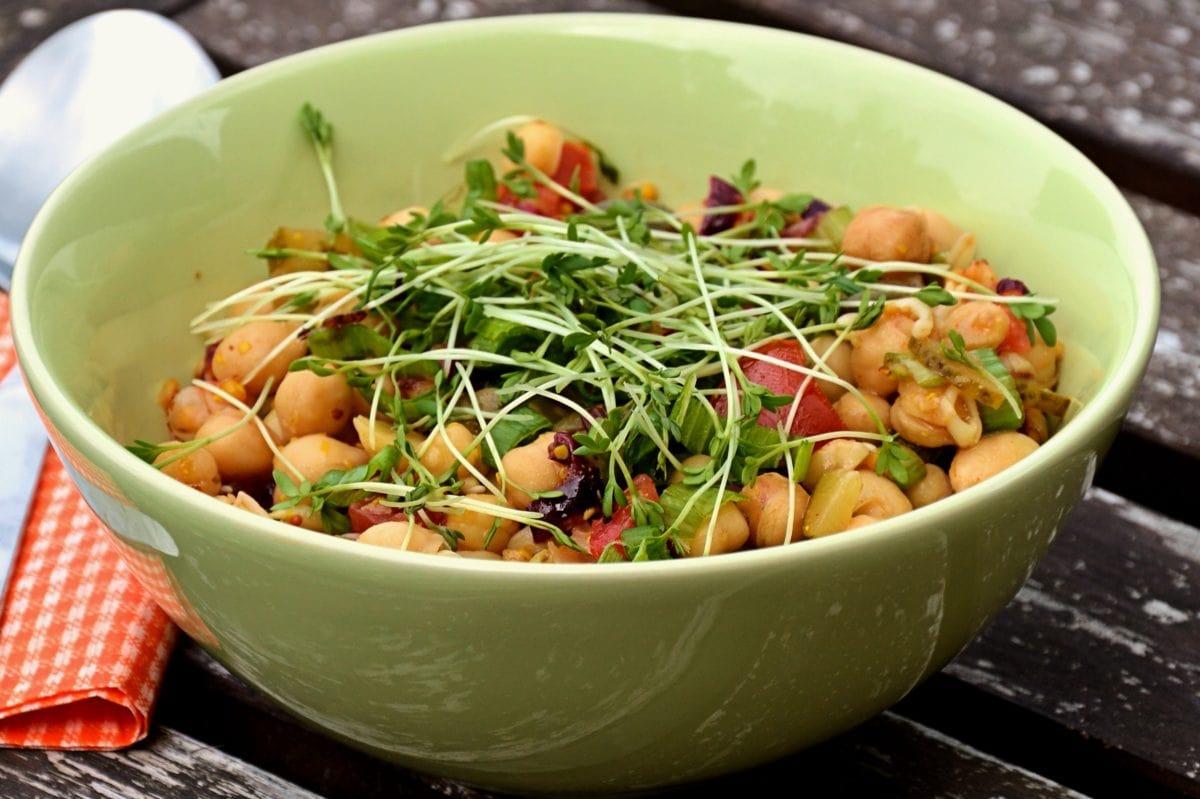 nourriture, bol, légume, salade, repas, plat, déjeuner, dîner, délicieux