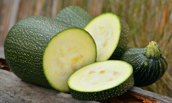 potiron vert, nourriture, fruit, légume, régime, courgette, organique