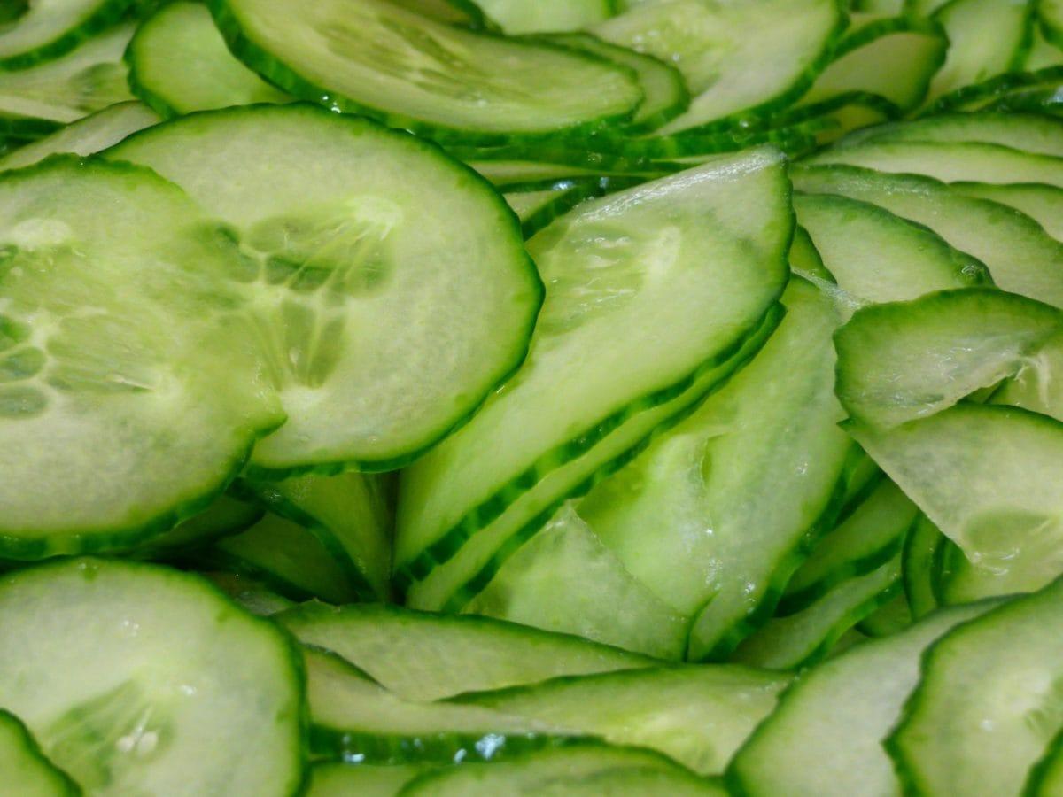 alimento, insalata, natura, foglia, organico, antiossidante, cetriolo, verdura