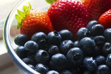 sweet, food, nutrition, fruit, delicious, blueberry, antioxidant, strawberry, bowl