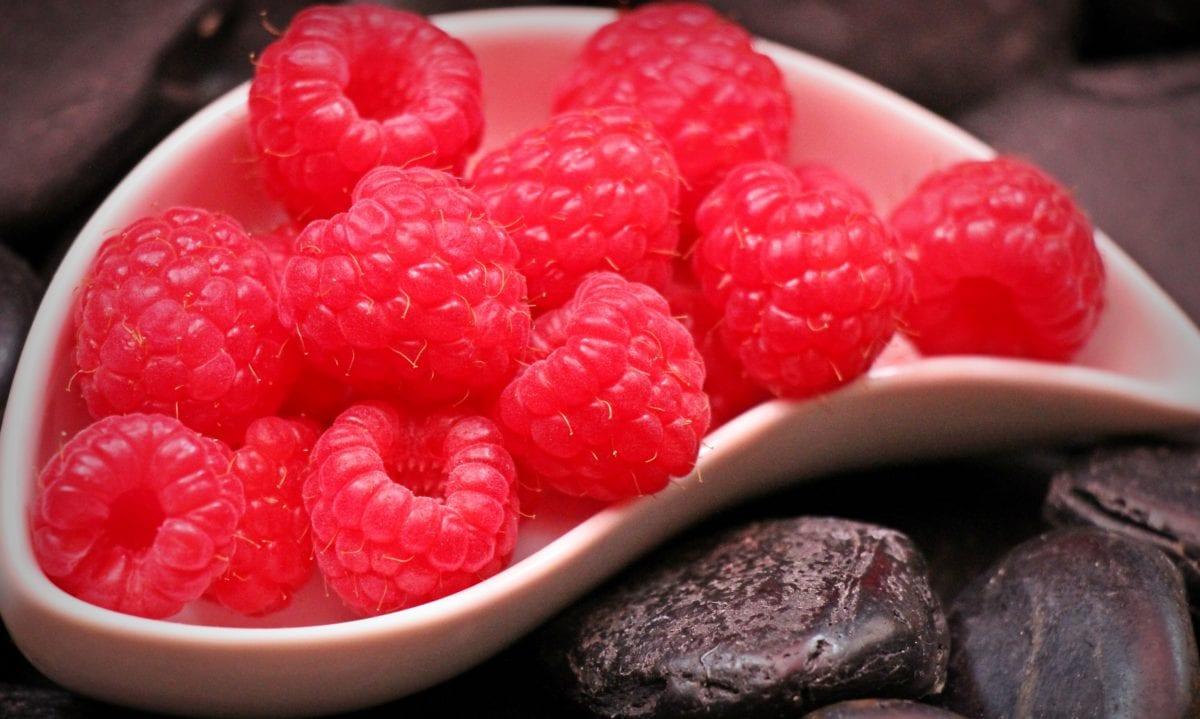délicieux, nourriture, sucré, fruit, framboise, Berry, dessert
